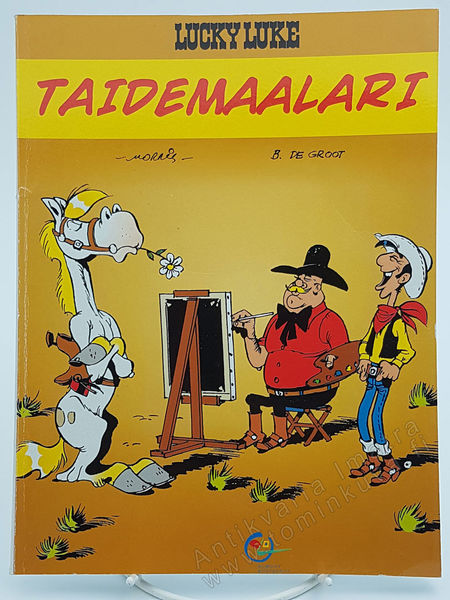 Lucky Luke -Taidemaalari